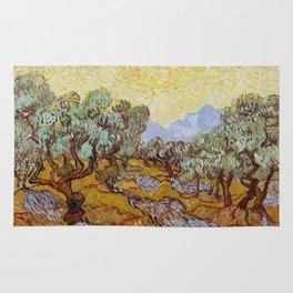 Vincent Van Gogh Olive Trees Rug