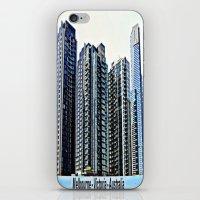 melbourne iPhone & iPod Skins featuring Melbourne CBD by Chris' Landscape Images & Designs