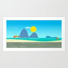 Rio de Janeiro Art Print