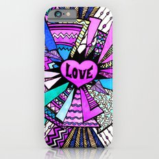 Power of Love Four - Orchid iPhone 6s Slim Case