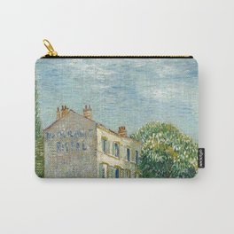 Restaurant Rispal at Asnieres by Vincent van Gogh Carry-All Pouch
