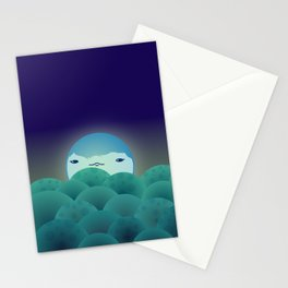 Moonlit Hills Stationery Cards