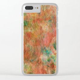 Abstract No. 321 Clear iPhone Case