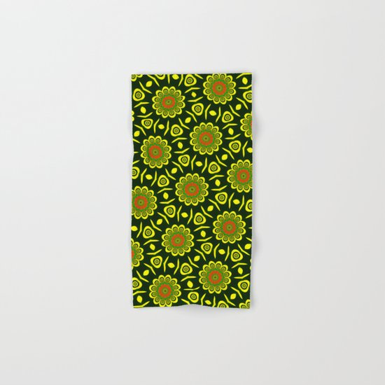 Cute ethnic floral pattern Hand & Bath Towel