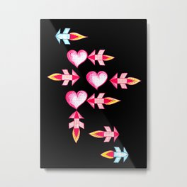 fires of love Metal Print