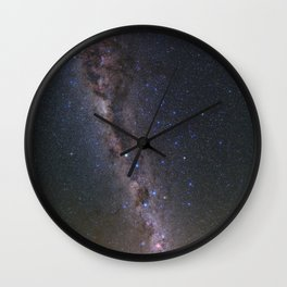 Milky Way in Chile 2 Wall Clock