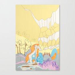 Free Energy Canvas Print