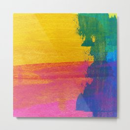 Abstract No. 395 Metal Print