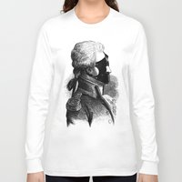 bdsm Long Sleeve T-shirts featuring BDSM XXXI by DIVIDUS