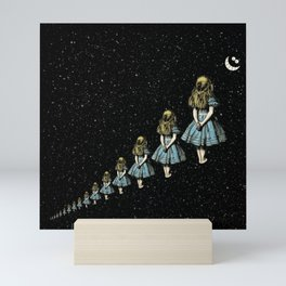 Infinite Wondering Nights - Alice In Wonderland Mini Art Print