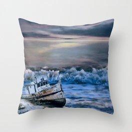 Looks Like Bad Weather Throw Pillow