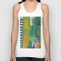 yoga Tank Tops featuring YOGA by Prema Designs