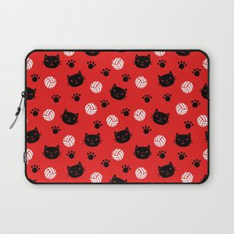 Volley Cats! Laptop Sleeve