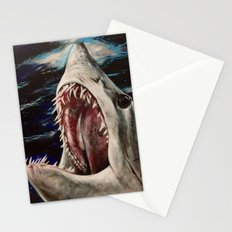 Mako Shark of Dark Waters Stationery Cards