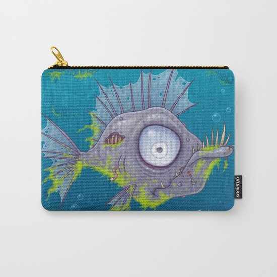 Zombie Fish Carry-All Pouch