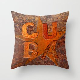 CUIN CUBA Throw Pillow