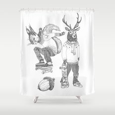 F*** your christmas Shower Curtain