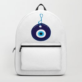 Turkish Blue Eye Bead Backpack