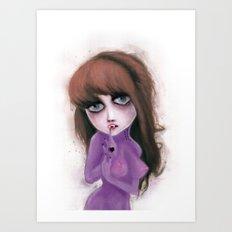 I have no reflection Art Print