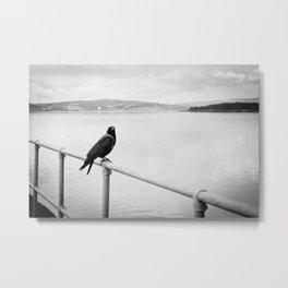 Eerie Bird Metal Print