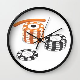 eye pot Wall Clock