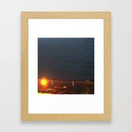 Docks Framed Art Print