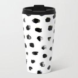 Dalmation Pattern Metal Travel Mug