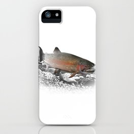 Migrating Steelhead Trout iPhone Case