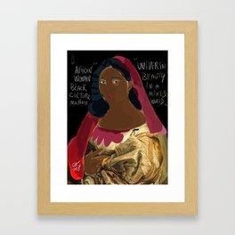 Black Culture Matters African Art Framed Art Print