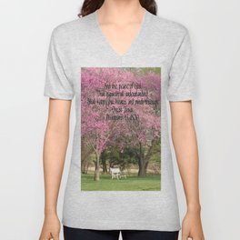 Redbud Beauties Unisex V-Neck