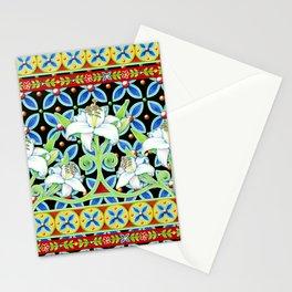 Elizabethan Folkloric Lily Stationery Cards