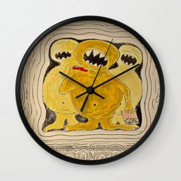 Gimme Your Lunch Money Wall Clock