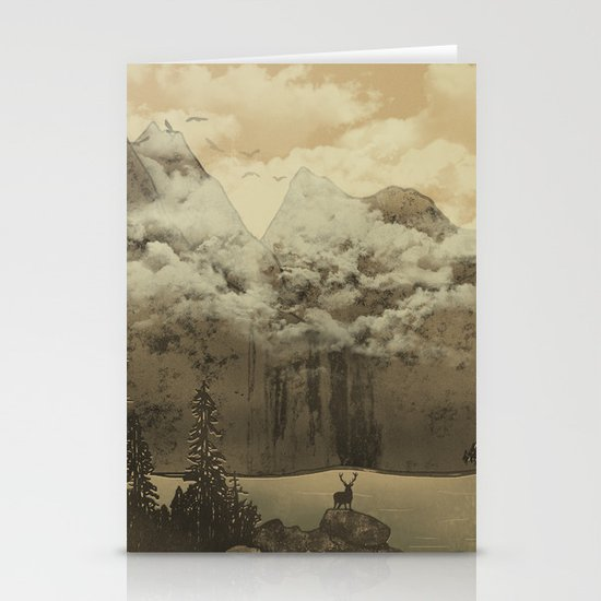 The Mountain Lake Stationery Cards