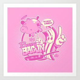 MEET BARRY BACON! Art Print