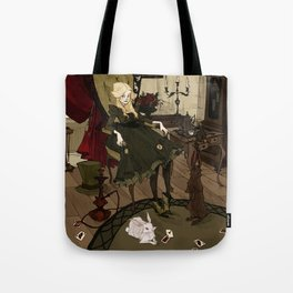 Clever Little Alice Tote Bag