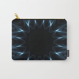 Kaleidoscope in Blue Carry-All Pouch
