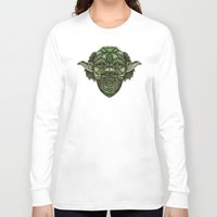 jedi Long Sleeve T-shirts featuring Aztec Jedi master Yoda iPhone 4 4s 5 5c 6, pillow case, mugs and tshirt by Greenlight8