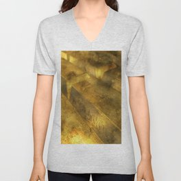 gold-wealth-finance-deposit Unisex V-Neck