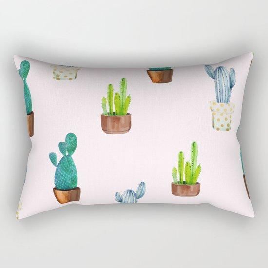 Cactus Formation #society6 #decor #buyart Rectangular Pillow