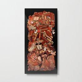 Book history Metal Print
