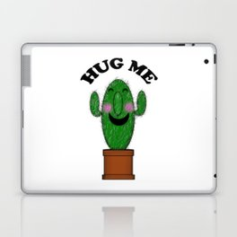 Hug Me Cactus Laptop & iPad Skin