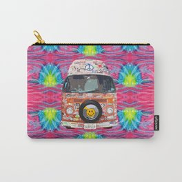 Groovy Hippie Van Carry-All Pouch