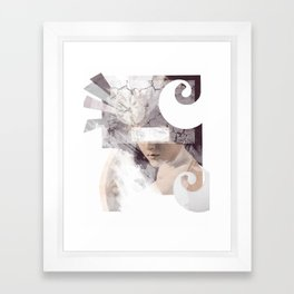 The Inevitable Fade Away  Framed Art Print