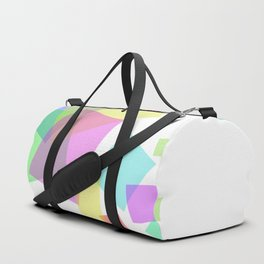 Rectangles flux - Vector Duffle Bag