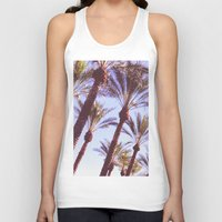 palms Tank Tops featuring Palms by lilycreations