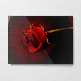 Rose #4 Metal Print