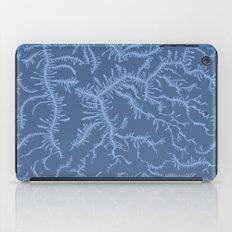 Ferning - Blue iPad Case