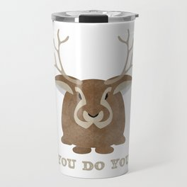 You Do You product Jackalope graphic Cryptid Funny Cute Gift print Travel Mug