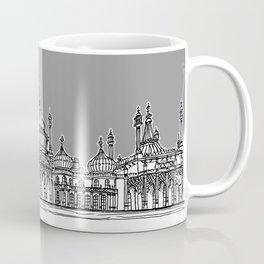 Brighton Royal Pavilion Facade ( Grey version ) Coffee Mug