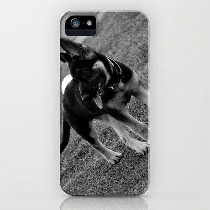 Bella the German Shepard 2 iPhone Case